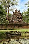 Banteay Srey, Angkor, Cambodia    Stock Photo - Premium Royalty-Free, Artist: Brian Pieters, Code: 600-02593783