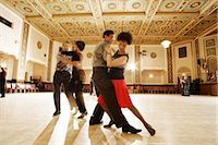 Dancers at Dance Class Stock Photo - Premium Rights-Managednull, Code: 700-02593830