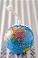 Globe with a Fuse    Stock Photo - Premium Royalty-Freenull, Code: 600-02594032