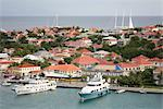 Overveiw of Gustavia Harbour, Saint Barthelemy, Caribbean    Stock Photo - Premium Rights-Managed, Artist: Michael Eudenbach, Code: 700-02594154