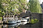 Canal in bruges Stock Photo - Premium Royalty-Free, Artist: srippel                       , Code: 614-02611740