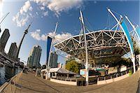 Sirius Satellite Radio Stage, Harbourfront Centre, Toronto, Ontario, Canada    Stock Photo - Premium Royalty-Freenull, Code: 600-02620674