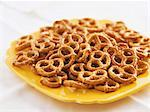 Salted pretzels Stock Photo - Premium Royalty-Free, Artist: svetlanna                     , Code: 621-02622686