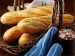 French Bread in Basket    Stock Photo - Premium Rights-Managed, Artist: foodanddrinkphotos, Code: 824-02625152
