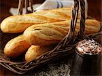 French Bread in Basket    Stock Photo - Premium Rights-Managed, Artist: foodanddrinkphotos, Code: 824-02625153
