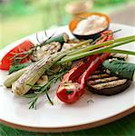 Griddled Vegetables    Stock Photo - Premium Rights-Managed, Artist: foodanddrinkphotos, Code: 824-02625315