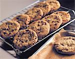 Chocolate Chip Cookies    Stock Photo - Premium Rights-Managed, Artist: foodanddrinkphotos, Code: 824-02625323