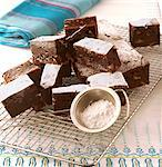Chocolate and Hazelnut Brownies    Stock Photo - Premium Rights-Managed, Artist: foodanddrinkphotos, Code: 824-02625454