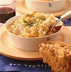Macaroni Cheese    Stock Photo - Premium Rights-Managed, Artist: foodanddrinkphotos, Code: 824-02625498