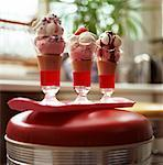 Knickerbocker Glories    Stock Photo - Premium Rights-Managed, Artist: foodanddrinkphotos, Code: 824-02625527