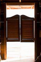 saloon - Saloon doors Stock Photo - Premium Royalty-Freenull, Code: 653-02634401