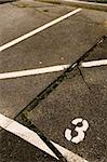Car parking space Stock Photo - Premium Royalty-Free, Artist: Mark Tomalty, Code: 653-02634756