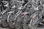 Frost-Covered Bicycles, Goes, Zeeland, Netherlands    Stock Photo - Premium Rights-Managed, Artist: Ben Seelt, Code: 700-02637247