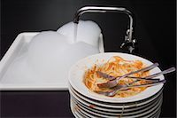Dirty Plates    Stock Photo - Premium Rights-Managednull, Code: 700-02637502