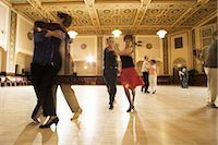Couples Dancing in Dance Hall    Stock Photo - Premium Rights-Managednull, Code: 700-02638159