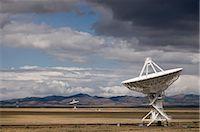 radio telescope - VLA Radio Telescopes, Socorro, New Mexico, USA    Stock Photo - Premium Rights-Managednull, Code: 700-02638170