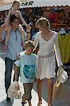 Family Shopping at Bazaar    Stock Photo - Premium Rights-Managed, Artist: Harald Vorsteher, Code: 700-02645907