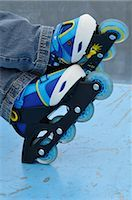 Close-Up of Roller Blades    Stock Photo - Premium Royalty-Freenull, Code: 600-02659568