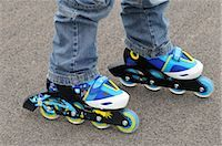 Close-Up of Roller Blades    Stock Photo - Premium Royalty-Freenull, Code: 600-02659569