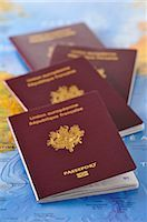 Close-up of Passports    Stock Photo - Premium Rights-Managednull, Code: 700-02659588