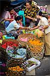 Selling Flowers at Market, Ubud, Bali, Indonesia    Stock Photo - Premium Rights-Managed, Artist: R. Ian Lloyd, Code: 700-02659682