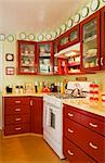 Interior of Kitchen    Stock Photo - Premium Rights-Managed, Artist: David Papazian, Code: 700-02659986
