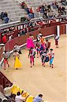Bullfighters, Plaza de Toros de Las Ventas, Madrid, Spain    Stock Photo - Premium Rights-Managed, Artist: Alberto Biscaro, Code: 700-02670036