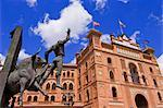 Plaza de Toros de Las Ventas, Madrid, Spain    Stock Photo - Premium Rights-Managed, Artist: Alberto Biscaro, Code: 700-02670052