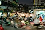 Hanoi Market at Night, Old Quarter, Vietnam    Stock Photo - Premium Rights-Managed, Artist: Horst Herget, Code: 700-02670085