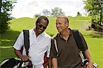 Men Walking on the Golf Course, Burlington, Ontario, Canada