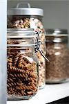 Dry Ingredients in Glass Jars    Stock Photo - Premium Royalty-Free, Artist: Mark Burstyn, Code: 600-02670478