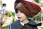 Little Boy Dressed Up as a Pirate    Stock Photo - Premium Rights-Managed, Artist: Mark Peter Drolet, Code: 700-02670901