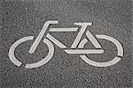 Bicycle Sign, Germany    Stock Photo - Premium Rights-Managed, Artist: Elke Esser, Code: 700-02671084