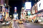 Times Square, New York City, New York, USA    Stock Photo - Premium Rights-Managed, Artist: Christopher Gruver, Code: 700-02671512