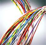 Computer cables. Stock Photo - Premium Royalty-Free, Artist: ableimages, Code: 679-02684231