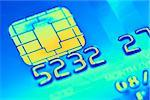 Credit card microchip, computer artwork. Stock Photo - Premium Royalty-Free, Artist: Cusp and Flirt, Code: 679-02684793