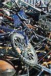 Bicycles in junk heap, close-up Stock Photo - Premium Royalty-Free, Artist: Narratives, Code: 632-02690425