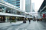 Sweden, Stockholm, upscale outdoor mall Stock Photo - Premium Royalty-Free, Artist: R. Ian Lloyd, Code: 633-02691337