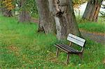 Bench, Bavaria, Germany    Stock Photo - Premium Royalty-Free, Artist: Martin Ruegner, Code: 600-02693532