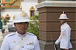 Guards at Grand Palace, Bangkok, Thailand    Stock Photo - Premium Rights-Managed, Artist: Mark Downey, Code: 700-02693508