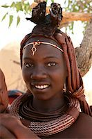 Portrait of Himba Woman With Baby, Kaokoveld, Namibia    Stock Photo - Premium Rights-Managednull, Code: 700-02694014
