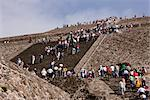 Pyramid of the Moon, Teotihuacan, Mexico    Stock Photo - Premium Rights-Managed, Artist: Jeremy Woodhouse, Code: 700-02694223
