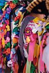 Purepecha Young Women, Festival El Levantamiento del Nino Dios, Sevina, Michoacan, Mexico