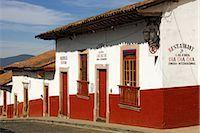 Street Scene, Patzcuaro, Michoacan, Mexico    Stock Photo - Premium Royalty-Freenull, Code: 600-02694333