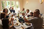 Family Having Lunch    Stock Photo - Premium Rights-Managed, Artist: Bruce Fleming, Code: 700-02698326