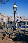 Bicycles, Nantucket, Massachusetts, New England, United States of America, North America    Stock Photo - Premium Rights-Managed, Artist: Robert Harding Images, Code: 841-02703580