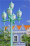 Typical pastel shades on mock Dutch architecture, Aruba, Dutch Antilles, Caribbean, West Indies    Stock Photo - Premium Rights-Managed, Artist: Robert Harding Images, Code: 841-02703661
