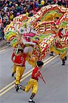 Dragon Dance, Chinese New Year Carnival, Hong Kong, China, Asia    Stock Photo - Premium Rights-Managed, Artist: Robert Harding Images, Code: 841-02704015