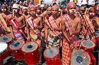 pictures philippine festivals philippines - Portrait of a group of drummers during the Mardi Gras carnival, Dinagyant, in Iloilo City, Panay Island, Philippines, Southeast Asia, Asia    Stock Photo - Premium Rights-Managednull, Code: 841-02704018