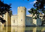 Bodiam Castle, Sussex, England    Stock Photo - Premium Rights-Managed, Artist: Robert Harding Images, Code: 841-02704113
